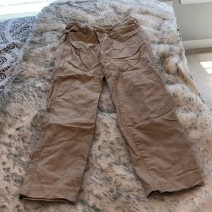Old navy ankle khakis size 0